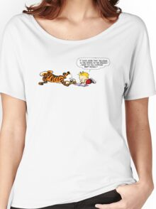 Calvin And Hobbes : Discussion Women's Relaxed Fit T-Shirt