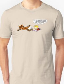 Calvin And Hobbes : Discussion Unisex T-Shirt