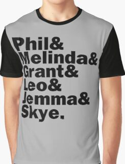 We are Agents of S.H.I.E.L.D. Graphic T-Shirt