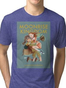 Moonrise Kingdom by Wes Anderson Tri-blend T-Shirt
