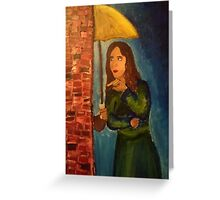 How i met your mother yellow umbrella Greeting Card