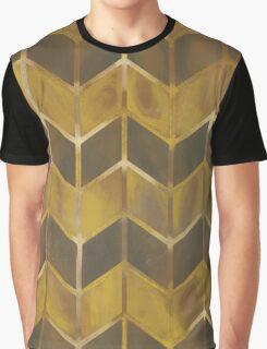 Chevron - Gilded Bronze Graphic T-Shirt