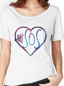 5 sos love galaxy Women's Relaxed Fit T-Shirt