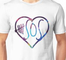5 sos love galaxy Unisex T-Shirt
