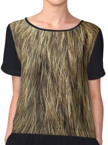 Dog fur Chiffon Top