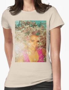 Sunny side of life.  Womens Fitted T-Shirt