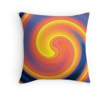 Sixties Twirl Throw Pillow