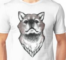 Wolf Looking Up Unisex T-Shirt