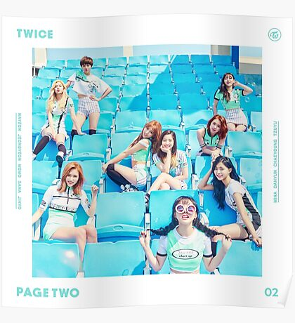 TWICE 'PAGE TWO' Poster