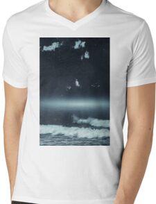 Horizon Glow Mens V-Neck T-Shirt