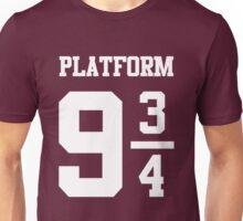 Platform 9 3/4 Jersey Number Unisex T-Shirt