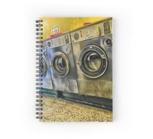 Hawthorn Road, retro Laundrette of Ketterin'Kollection  Spiral Notebook