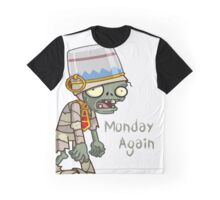 Plants vs Zombies  Monday Again Graphic T-Shirt