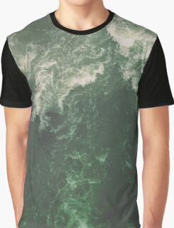 Green Ocean Graphic T-Shirt