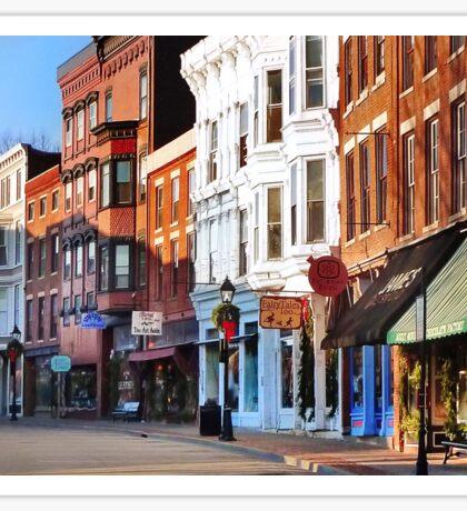 Main Street ~ Galena, Illinois Sticker