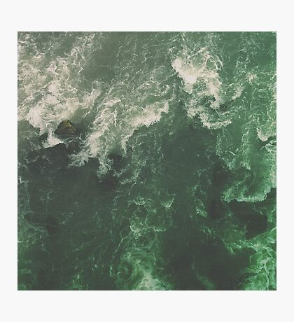 Green Ocean Photographic Print
