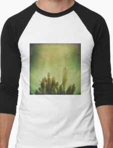 Cactus in my mind Men's Baseball ¾ T-Shirt