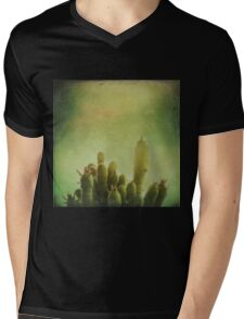 Cactus in my mind Mens V-Neck T-Shirt