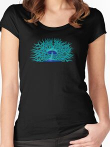 Fungal Filaments Women's Fitted Scoop T-Shirt