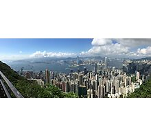 Hong Kong Panorama Photographic Print