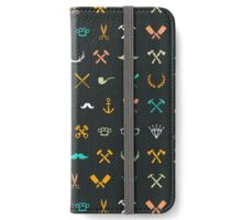 Hipster Seamless Pattern iPhone Wallet/Case/Skin