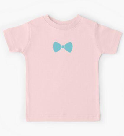 Turquoise Pastel Bow Kids Tee