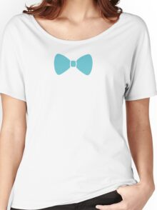 Turquoise Pastel Bow Women's Relaxed Fit T-Shirt