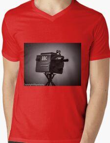 Retro bbc camera  Mens V-Neck T-Shirt