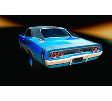 1968 Dodge Charger R/T Photographic Print