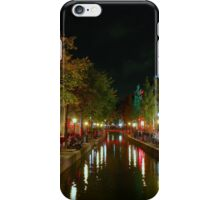 Red Light District, Amsterdam iPhone Case/Skin