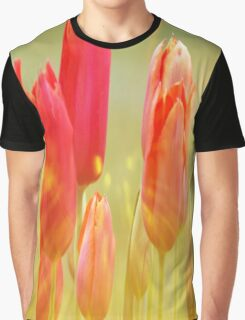 Sunburst Tulips Graphic T-Shirt