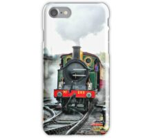 Engine 263 steaming iPhone Case/Skin