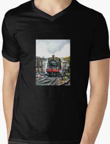 Engine 263 steaming Mens V-Neck T-Shirt