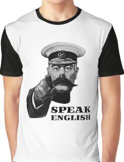 Lord Kitchener Speak English Graphic T-Shirt