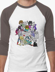 undertale XX Men's Baseball ¾ T-Shirt