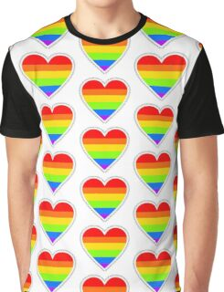 XOX Equality Heart Frame Graphic T-Shirt