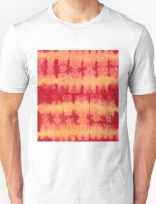 tye n dye vertical n horizontal lines by fan folding  print Unisex T-Shirt