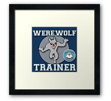 Werewolf Trainer (fantastic beasts) Framed Print
