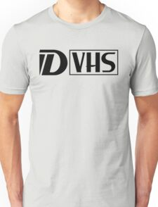D VHS Logo Unisex T-Shirt