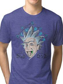 Wubba - RICK MORTY Tri-blend T-Shirt