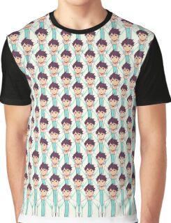 Derpy Oikawa  Graphic T-Shirt
