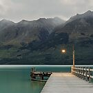Glenorchy Jetty - Glenorchy New Zealand by Beth  Wode