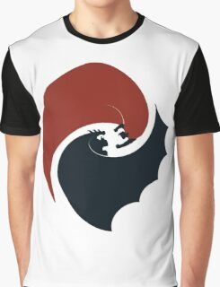 batman vs superman yin yang logo Graphic T-Shirt