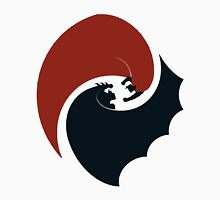 batman vs superman yin yang logo Unisex T-Shirt