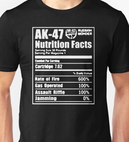 Nutrition Riffle Unisex T-Shirt