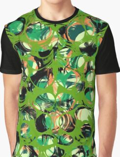 Abstraction Green Graphic T-Shirt