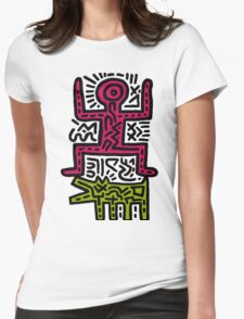 HARING - COUPLE for Women (Family) Womens Fitted T-Shirt