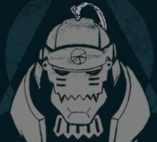 Alphonse Elric In The Dark Sticker