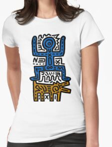 HARING - COUPLE for Men(Family) Womens Fitted T-Shirt