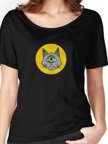 Illuminati Cyclops Money Cat, alone! Women's Relaxed Fit T-Shirt